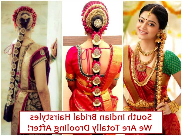 South Indian Bridal Hairstyles We Are Totally Drooling After With Regard To Indian Wedding Long Hairstyles (View 22 of 25)