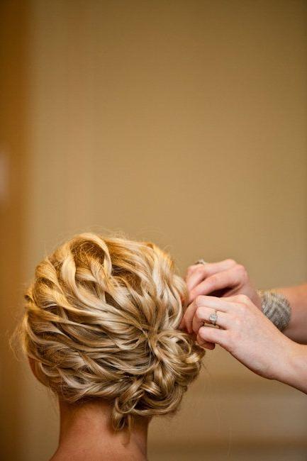 Featured Photo of Spirals Side Bun Prom Hairstyles