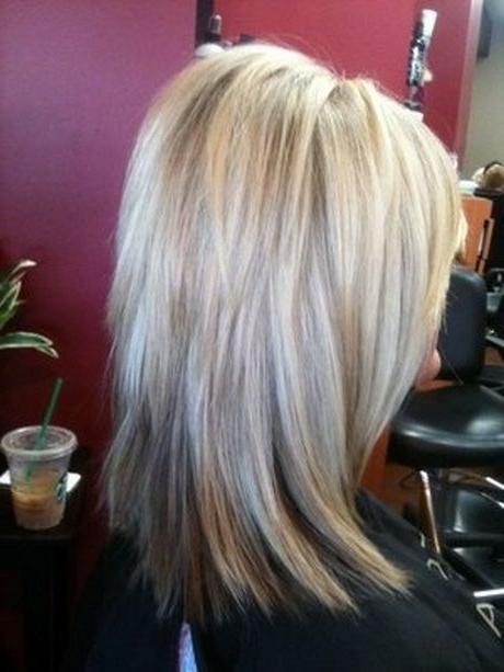 Stacked Medium Length Haircuts | Hair | Layered Hair, Hair Cuts Inside Stacked Long Haircuts (View 2 of 25)