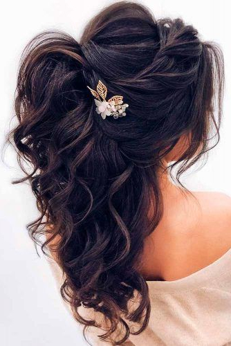 Stay Charming With Our Hairstyles For Weddings   H A I R S T Y L E S Inside Charming Waves And Curls Prom Hairstyles (View 20 of 25)