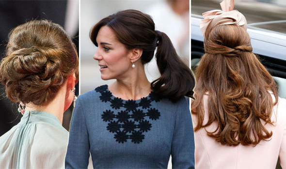 Steal Kate Middleton's Style With This Step By Step Guide | Express With Long Hairstyles Kate Middleton (View 13 of 25)