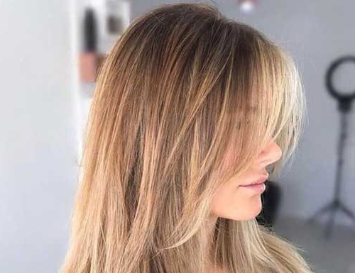 Straight Choppy Layered Haircuts Archives – Hairstyles And Haircuts Intended For Choppy Layers For Straight Long Hairstyles (View 14 of 25)