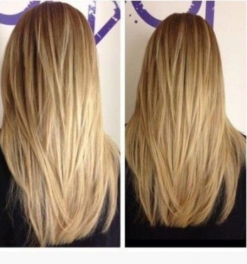 Straight Layered Long Hair   Bluo Cms Intended For Straight Layered For Long Hairstyles (View 5 of 25)