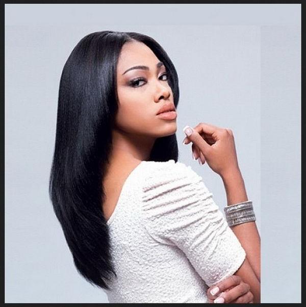 Straight Long Hairstyles Black Women 2018 2019 | Hair Ideas In 2019 In Black Girls Long Hairstyles (View 17 of 25)