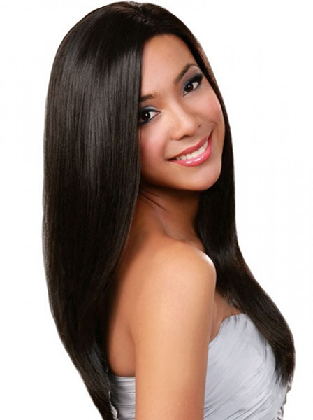 Straight Long Hairstyles For Black Women Wig, Best African American Wigs Within Long Hairstyles For African American Women (View 24 of 25)