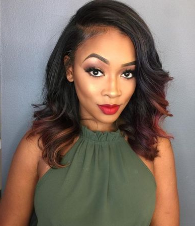 Stunning And Quick Weave Hairstyles For Black Women In Long Hairstyles Quick Weave (View 5 of 25)
