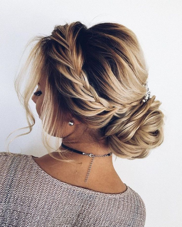 Stunning Updo Hairstyles, Upstyles, Elegant Updo ,chignon ,bridal Inside Long Hairstyles Upstyles (View 14 of 25)