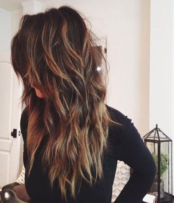 Stylish Long Hair Style – Balayage Long Hairstyles For Thick Hair Pertaining To Long Haircuts For Thick Hair (View 9 of 25)