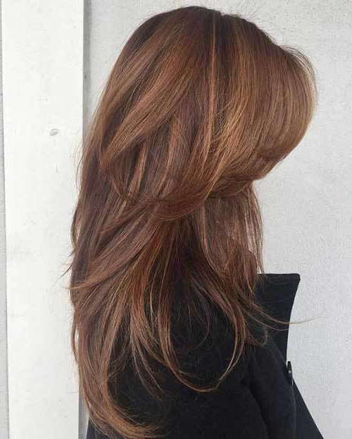 Stylish Long Layered Hairstyles For Ladies – Hairstyle Fix Within Long Hairstyles That Frame Your Face (View 24 of 25)
