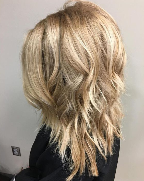 Stylish Shoulder Length Haircuts, Women Medium Hairstyles For Thick With Regard To Extra Long Layered Haircuts For Thick Hair (View 14 of 25)