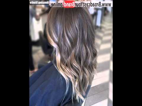 Subtle Balayage For Long Layered Brown Hair – Youtube With Balayage Hairstyles For Long Layers (View 10 of 25)