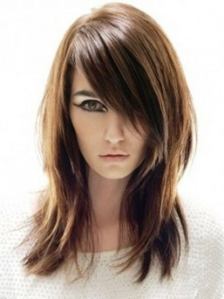 Super Long Haircuts For Thin Hair And Round Face – New Haircut Styles With Long Haircuts For Thin Hair (View 10 of 25)