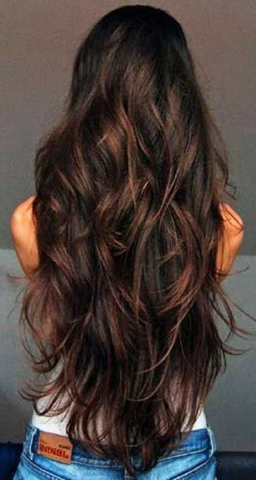 Featured Photo of Layers For Super Long Hairstyles