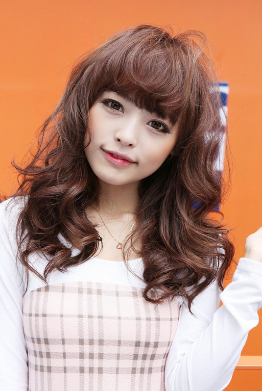Sweet Long Japanese Hairstyle For Girls – Hairstyles Weekly Inside Korean Girl Long Hairstyles (View 14 of 25)