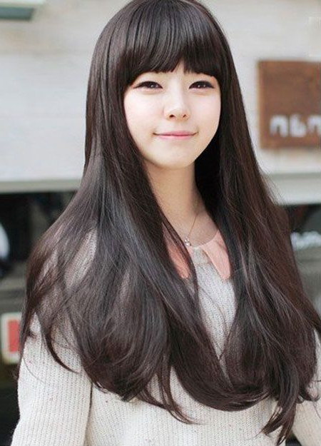 Sweet & Romantic Asian Hairstyles For Young Women In 2019   Long With Regard To Long Straight Japanese Hairstyles (View 10 of 25)