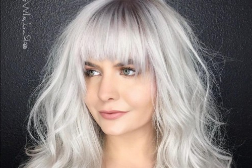 The 13 Most Flattering Hairstyles For Oval Faces In 2019 Pertaining To Long Hairstyles With Bangs For Oval Faces (View 25 of 25)