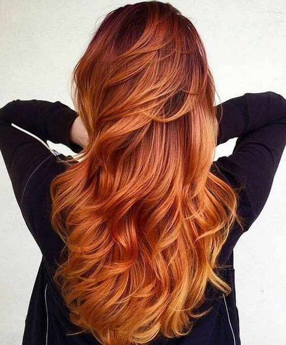 The 27 Hottest Red Ombre Hairstyles With Regard To Long Hairstyles Red Ombre (View 3 of 25)