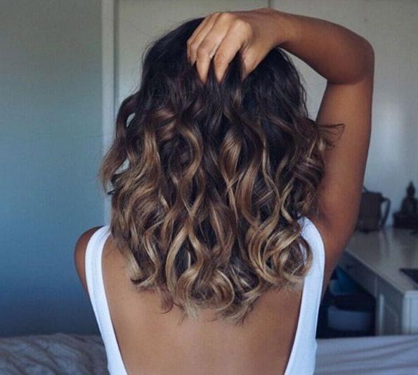 The 40 Latest Medium Length Curly Hairstyles   Hair Stuff   Curly Pertaining To Everyday Loose Wavy Curls For Long Hairstyles (View 24 of 25)