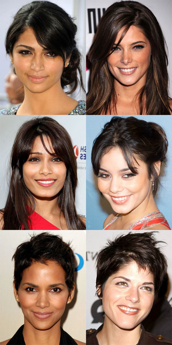 The Best (And Worst) Bangs For Diamond Faces – The Skincare Edit With Long Hairstyles Diamond Shaped Faces (View 8 of 25)