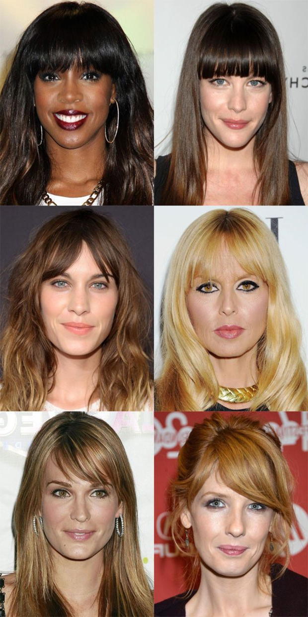 The Best (And Worst) Bangs For Long Face Shapes | Hair & Beauty That Intended For Long Hairstyles Rectangular Face Shape (View 9 of 25)