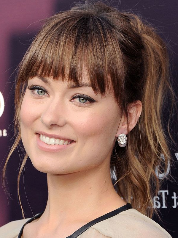 The Best (And Worst) Bangs For Square Face Shapes | Hair | Bangs Within Long Hairstyles For Square Faces With Bangs (View 5 of 25)