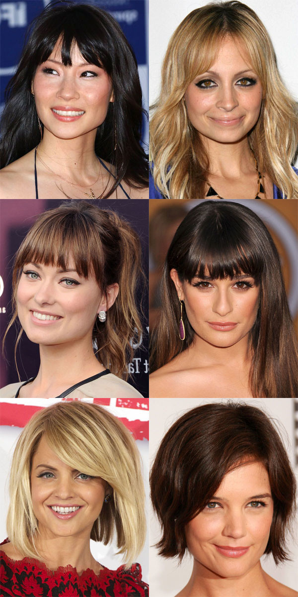 The Best (And Worst) Bangs For Square Face Shapes – The Skincare Edit Throughout Long Hairstyles For Square Faces With Bangs (View 4 of 25)