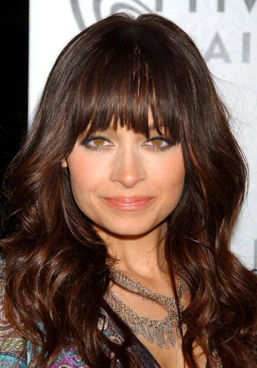 The Best Bangs For A Square Face Shape – Hair World Magazine Pertaining To Long Hairstyles For Square Faces With Bangs (View 7 of 25)