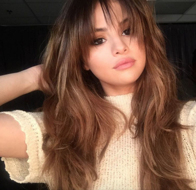 The Best Bangs For Your Face Shape | Glamour Inside Best Long Haircuts For Round Face (View 16 of 25)