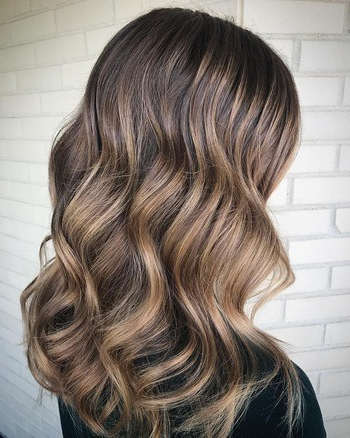 The Best Brunette Haircolors: Warm, Cool & Natural Shades | Redken In Warm Toned Brown Hairstyles With Caramel Balayage (View 6 of 25)