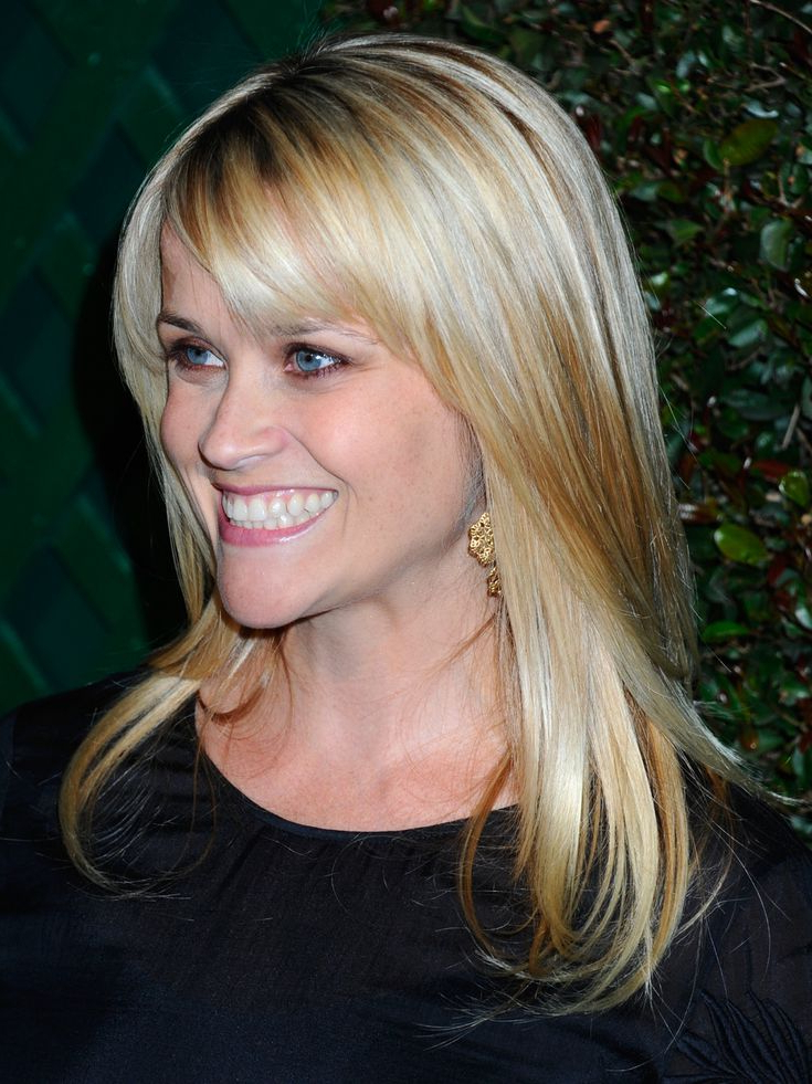 The Best Celebrity Inspired Side Bang Haircuts With Long Hairstyles With Swoop Bangs (View 6 of 25)