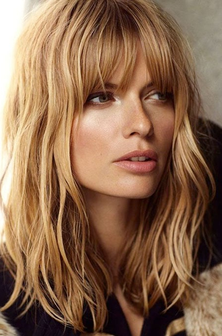 The Best Hairstyles For Women With Thin Hair – The Trend Spotter With Regard To Long Hairstyles Layers With Bangs (View 9 of 25)