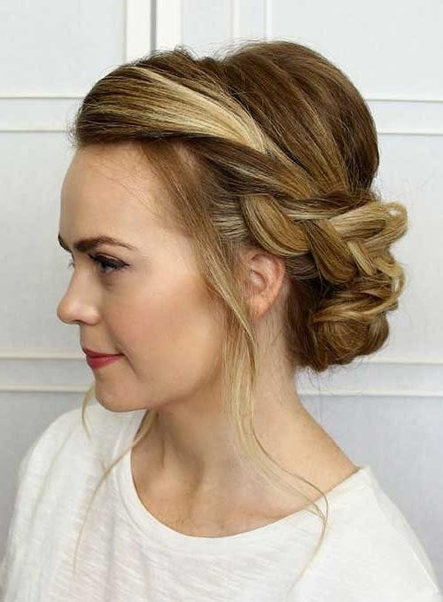 The Best Ideas For Casual Updo Hairstyles – Home Inspiration And Diy With Long Hairstyles Updos Casual (View 19 of 25)