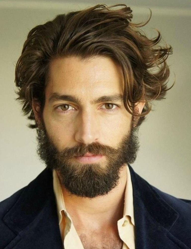 The Best Medium Length Hairstyles For Men Pertaining To Medium Long Hairstyles For Men (View 10 of 25)