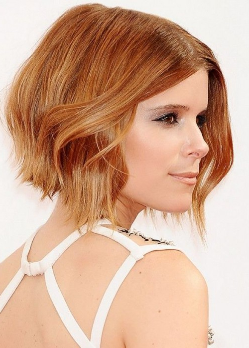 The Best Strawberry Blonde Bobs – Hair World Magazine Inside Long Feathered Strawberry Blonde Haircuts (View 5 of 25)