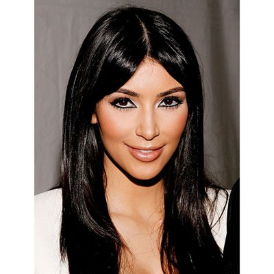 The Hair Evolution Of Kim Kardashian Over The Last 10 Years | Allure Intended For Dishevelled Side Tuft Prom Hairstyles (View 13 of 25)