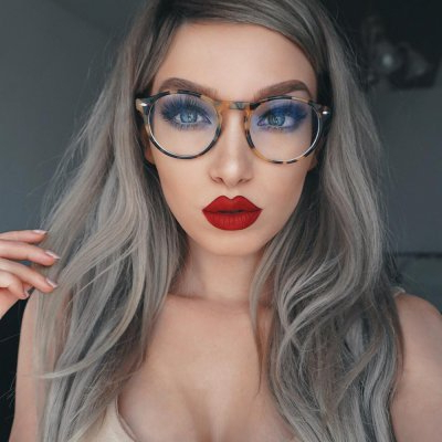 The Hottest Hairstyles To Wear With Glasses Throughout Long Hairstyles With Glasses (View 8 of 25)
