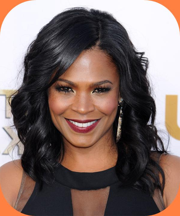The Impressive Nia Long Hairstyles | Hairstyles Directory Pertaining To Long Hairstyles With Bangs For Black Women (View 15 of 25)