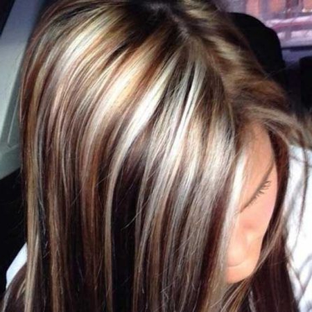 The Most Awesome Long Hairstyles Highlights Lowlights Intended For Regarding Long Hairstyles Highlights And Lowlights (View 7 of 25)