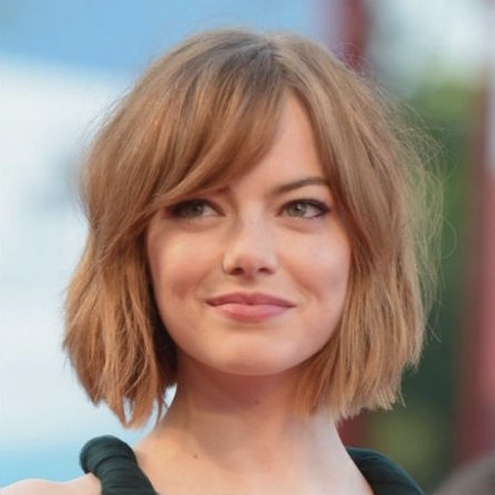 The Most Flattering Hairstyles For Round Faces And Why They Work Pertaining To Round Face Long Hairstyles With Bangs (View 7 of 25)