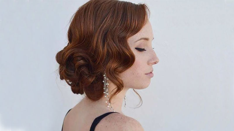 The Most Stunning Prom Hairstyles For 2019 – The Trend Spotter Inside Vintage Updos For Long Hair (View 11 of 25)