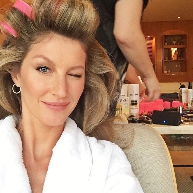The Return Of Hot Rollers: Hairstylist Harry Josh On The Bombshell With Regard To Electric Curlers For Long Hair (View 23 of 25)