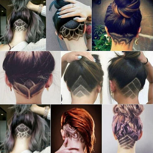 The Undercut Is The Fit Girl Hair Trend You Need To Try For Summer Within Long Hairstyles Shaved Underneath (View 9 of 25)