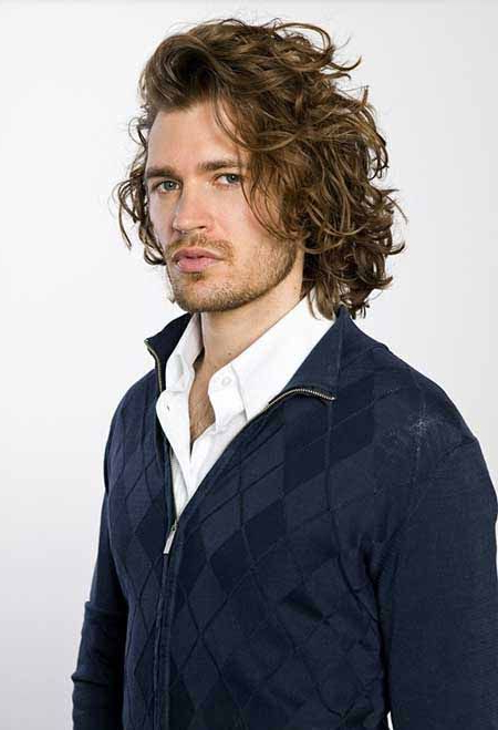 The Wild Style Of The Long Curly Hairstyles For Men | Long For Mens Long Curly Haircuts (View 15 of 25)