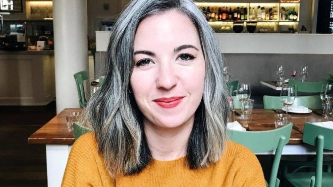 The Women Choosing To Love Their Natural Grey Hair – Bbc News In Long Hairstyles For Grey Haired Woman (View 24 of 25)