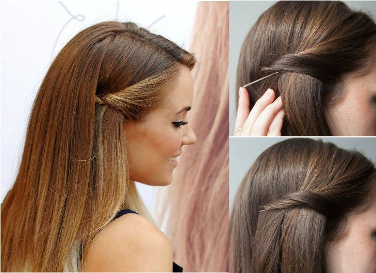 Featured Photo of Long Hairstyles Using Bobby Pins