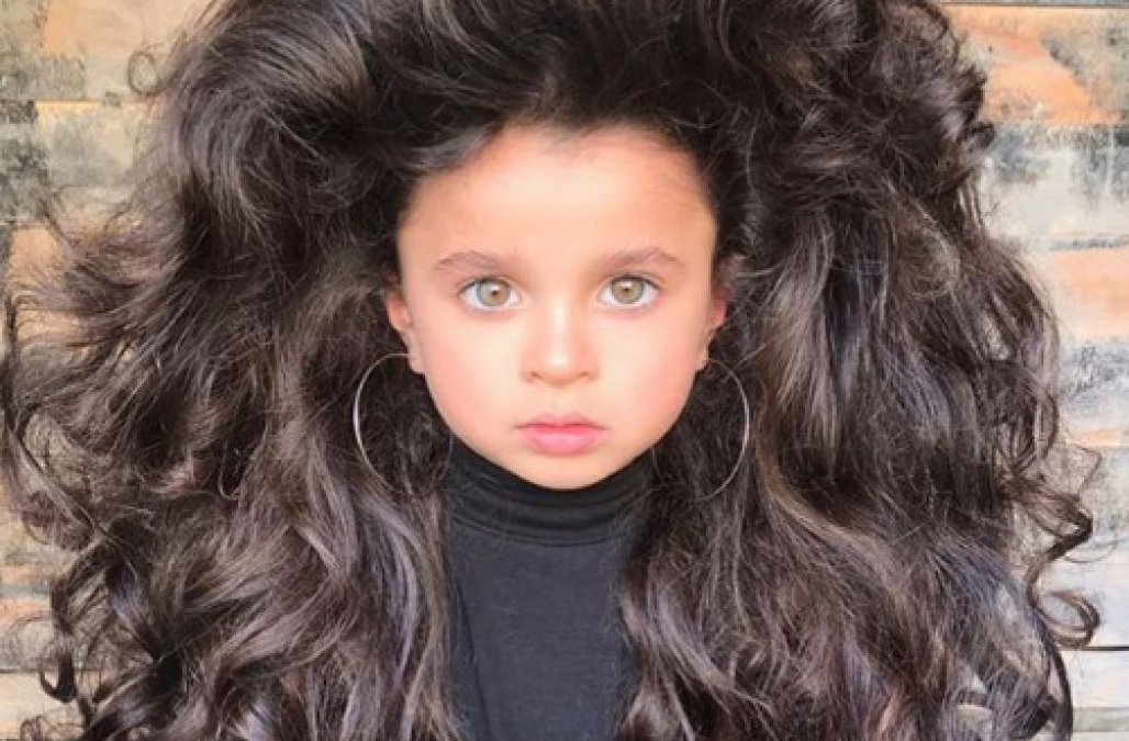 This 5 Year Old's Big Hair Is Going Viral — And Her Parents Are Intended For Fat Girl Long Hairstyles (View 2 of 25)