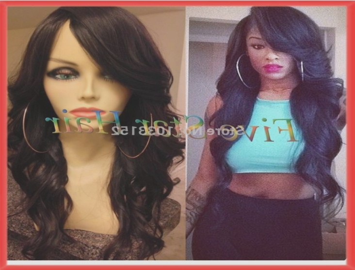 This Story Behind Long Hairstyles With Swoop Bangs Will In Long Hairstyles With Swoop Bangs (View 24 of 25)
