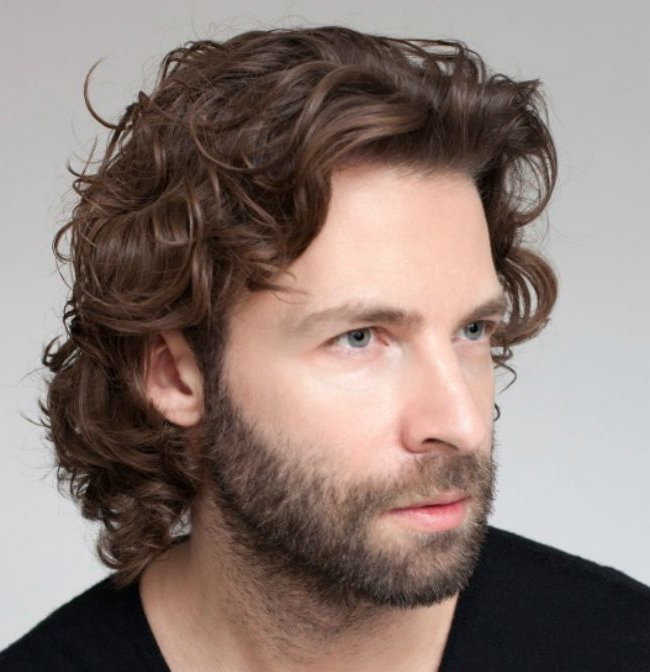 Top 10 Curly Haircuts For Men | Naturallycurly Inside Mens Long Curly Haircuts (View 11 of 25)