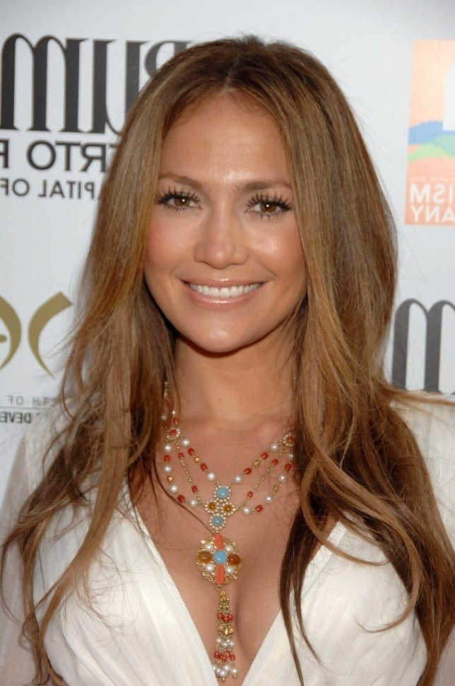 Top 10 Jennifer Lopez Hairstyles To Copy – Hairstylecamp Throughout Long Hairstyles Jennifer Lopez (View 6 of 25)
