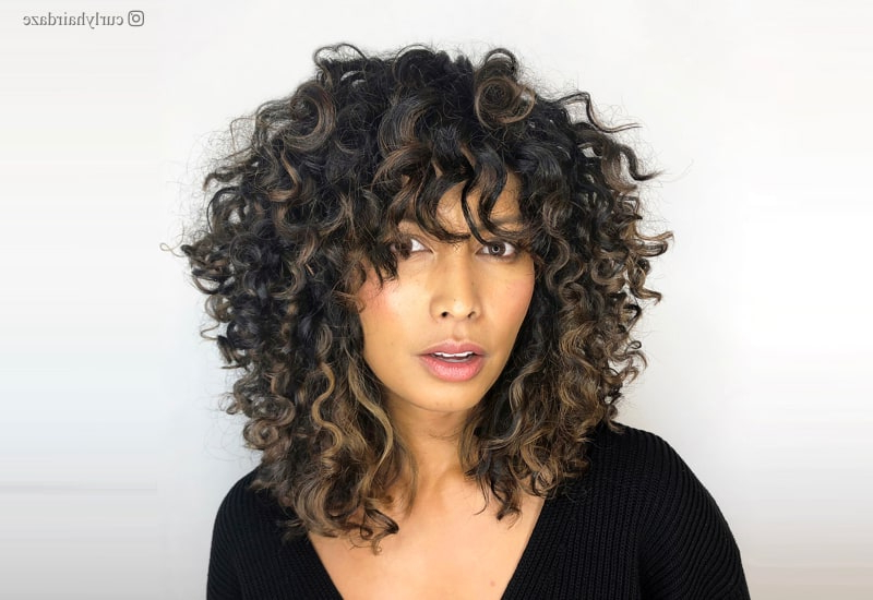 Featured Photo of Long Curly Layers Hairstyles